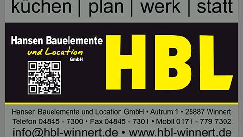 sponsor logo hansen bauelemente und location